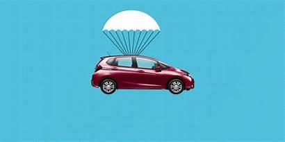 Honda Parachute Illustration Justin Leave Tweet Designer