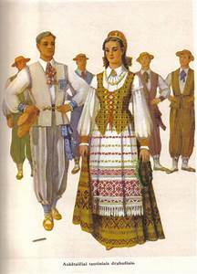 Lithuanian Folk Costumes | Traditional clothing of the ...