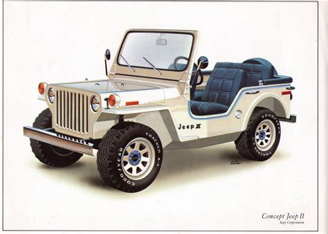 Concept Jeep II 1977 - Jeep Willys World