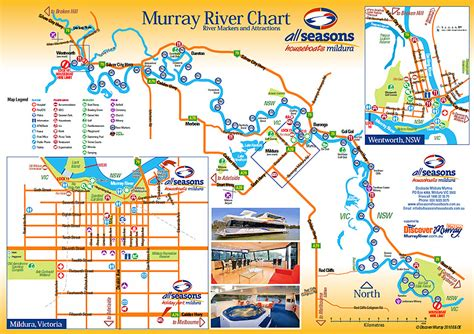 australia tourism bureau mildura and sunraysia attractions all seasons houseboats all seasons houseboats