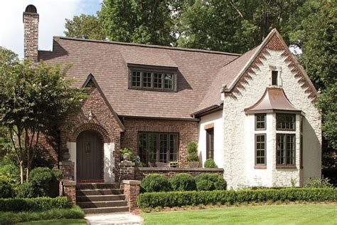 Warm English Cottage Style Architecture — House Style And