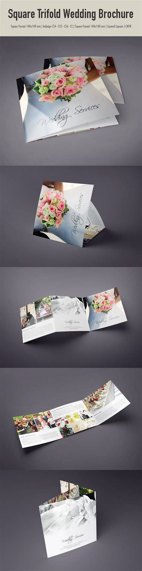 Trifold Template Album Ideas by 25 Best Ideas About Wedding Brochure On Pinterest