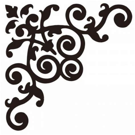 Was Ist Eine Ecke by Moosgummistempel Ornament Ecke 15x15 Cm Idee Der