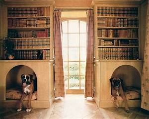 25 cool indoor dog houses home design and interior for Indoor dog house ideas