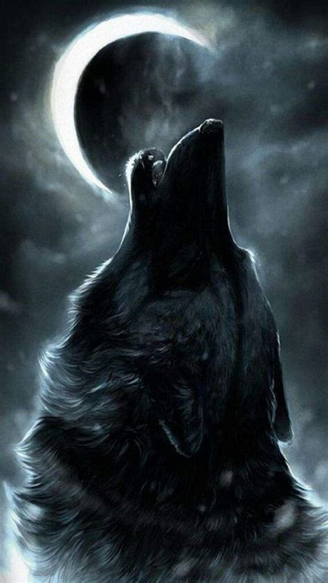 Alpha Wolf Blood Moon Wolf Wallpaper by Alpha Wolf Anime Amino