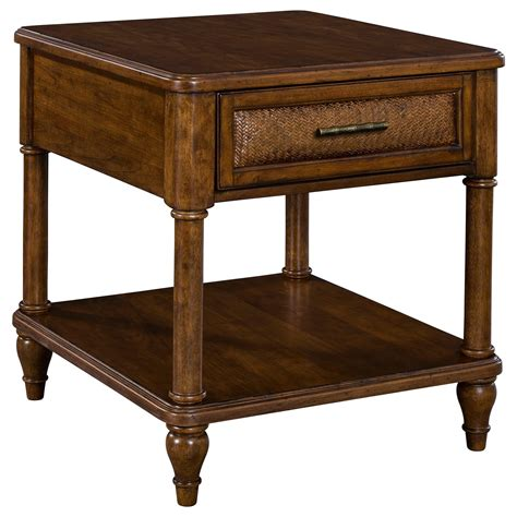 Broyhill Furniture Amalie Bay 4548002 1 Drawer End Table. Under Bed Trundle Drawer. Small Desk For Kids. Decorative Tables. Office Desk Deals. Desk Beds. Living Edge Dining Table. Utensil Organizer Drawer. Jenny Lind Desk