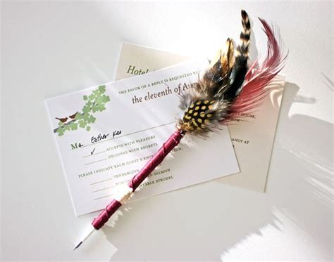 Make A Feather Pen With This Quick And Easy Tutorial. It's