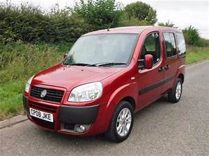2008 Fiat Doblo Dynamic Multijet 1 3 Diesel 5 Door  Red