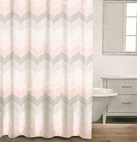 hilfiger curtains chevron caro home 100 cotton shower curtain wide stripes chevron