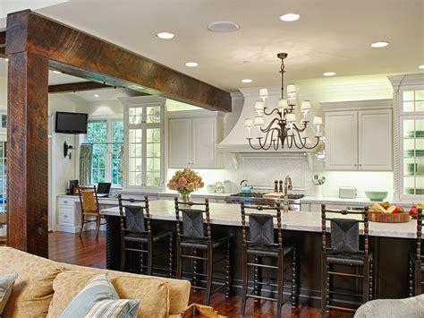 cottage kitchen islands photos hgtv