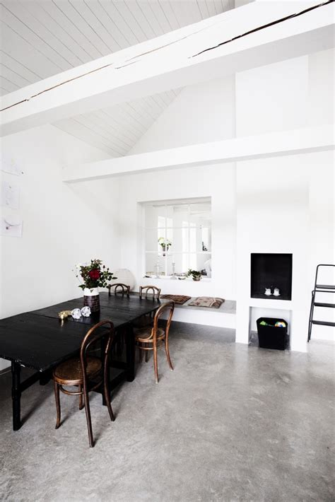 scandinavian flooring scandinavian retreat concrete floors