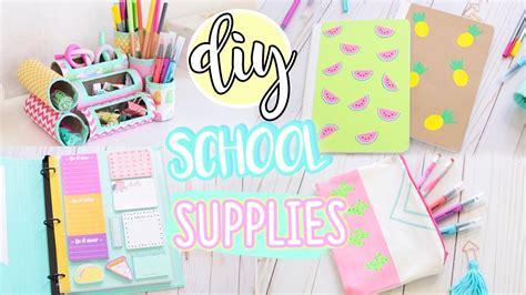 diy easy school supplies  organization