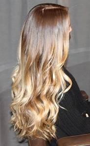 Caramel Brown to Golden Blonde Ombre / make up tips ...