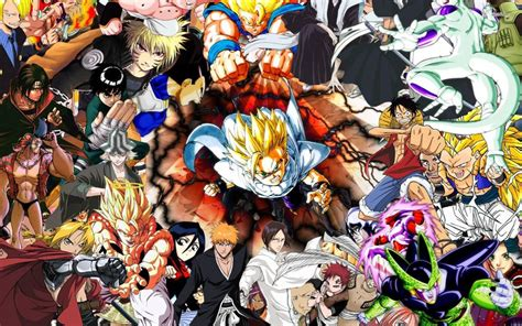 Anime Characters Wallpaper - all anime characters hd wallpaper 65 images