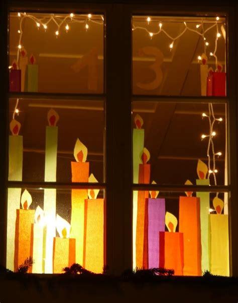 Fensterdeko Weihnachten Schule by Wachtvereinigung Dorfmeilen Adventsfenster 2012