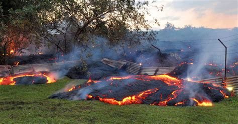 hawaii lava flow slow motion disaster