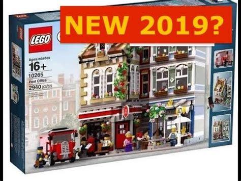 lego creator expert 2018 is this new 2019 lego creator expert modular building