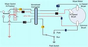 Wiper Motor Wiring Diagram I Need To Know The Schematic Or