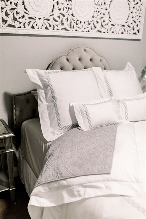 Guest Bedroom Bedding by Our Beautiful Guest Bedroom The Miller Affect
