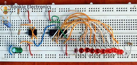 led chaser rookie electronics electronics robotics