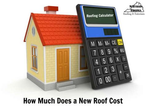 How Much Does A New Roof Cost Roofing Calculator