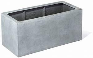 Beton Pflanzkübel Rechteckig : fiberglas blumenkasten esteras sandal betonfarben 60cm lang ~ Sanjose-hotels-ca.com Haus und Dekorationen