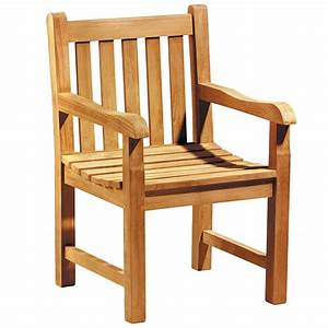 Fauteuil Jardin Bois : fauteuil de jardin en teck massif avec coussin ~ Teatrodelosmanantiales.com Idées de Décoration