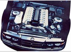 BMW's Secret 7 Series model E32 Prototype with 67L V16