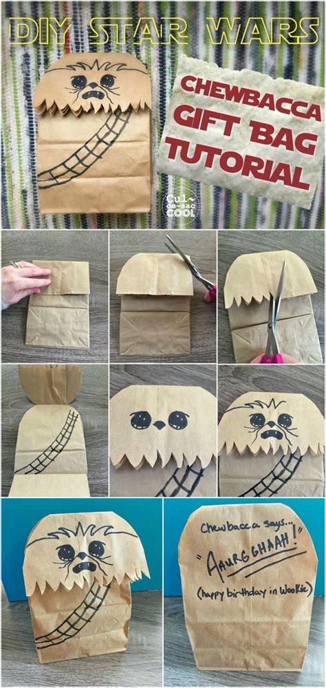 chewbacca tutoriales de bolsos and bolsas para regalos on