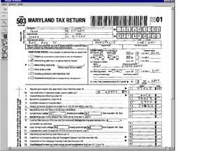 Income Tax Return Form Example