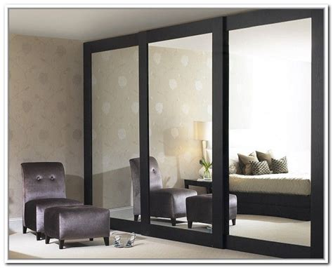 sliding mirror closet doors makeover house closet door