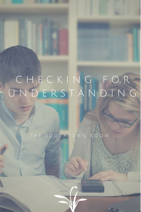 ways  check  understanding   special education