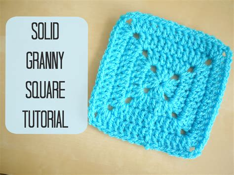 how to crochet a square crochet how to crochet a solid granny square for beginners bella coco viyoutube