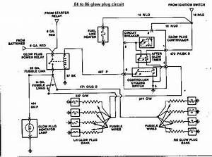 Glow Plug Circuit - Diesel Forum
