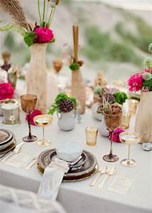 Tischdeko Für Hochzeit : tischdeko zur hochzeit tolle farbenfrohe gestaltungsideen ~ Eleganceandgraceweddings.com Haus und Dekorationen