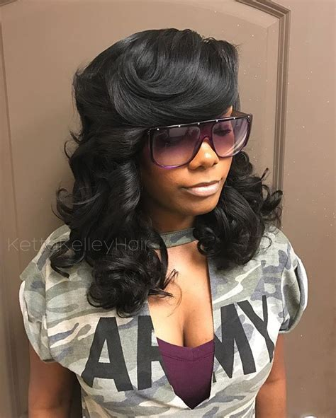 Sew In Hairstyles With Bangs by 25 Best Ideas About Sew In With Bangs On