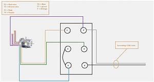 Single Phase Electric Motor Wiring Diagram  U2013 Vivresaville Com
