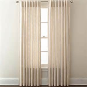 Jcpenney Curtainswindow Treatments by Saturn Back Tab Curtain Panel Jcpenney Window