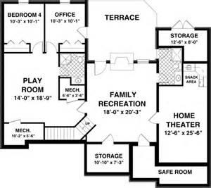 basement floor plans free house plans with basements smalltowndjs