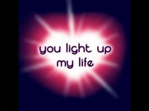 YOU LIGHT UP MY LIFE  Instrumental YouTube