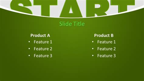 Free Start PowerPoint Template - Free PowerPoint Templates