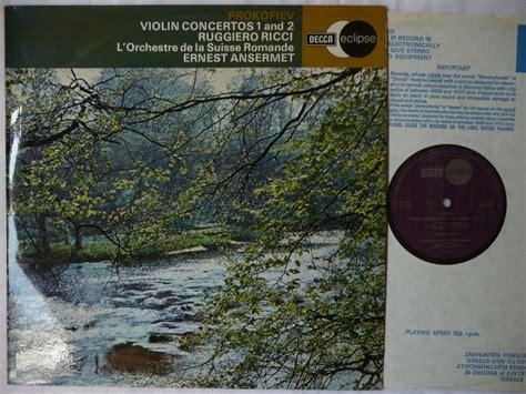 Ricci Plays Prokofiev Vcs Osr Ansermet Decca