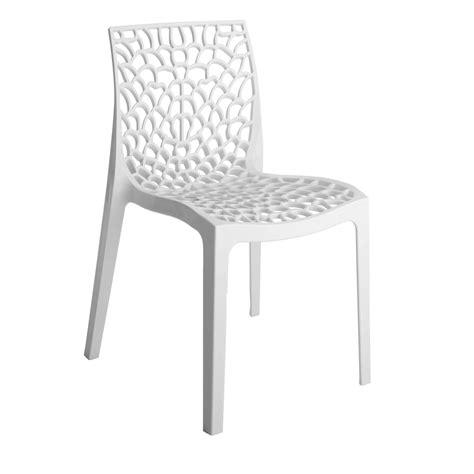 chaise de cuisine avec accoudoir chaise de jardin en résine grafik blanc leroy merlin
