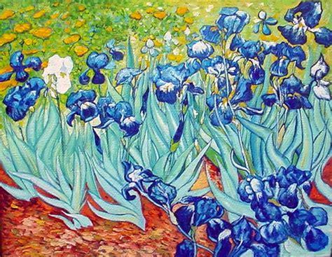 la chambre vincent gogh les iris de gogh