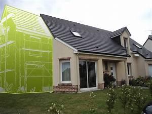 agrandissement traditionnel dune maison en picardie renovea With projet d extension maison