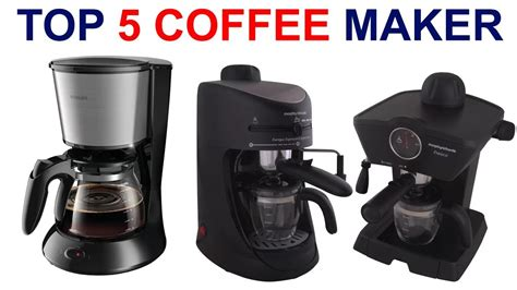 Though it hasn't got any advanced features, it still delivers a good cup of coffee. Top 5 Coffee Maker with price in india 2018 - YouTube