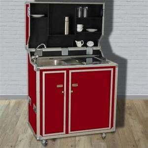Pro Art Kitcase : kitcase pro art kofferk che rot matt die mobile k che im flightcase mit rollen ~ Markanthonyermac.com Haus und Dekorationen