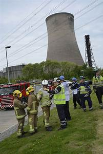 Major Training Exercise At Fiddlers Ferry Power Station