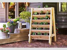 Ana White Vertical Herb Planter Featuring Bonnie Plants