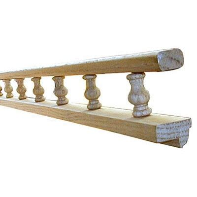 gallery rails rail spindles woodworkers hardware